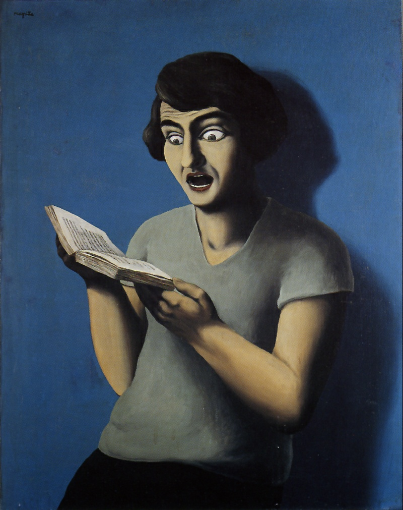 magritte_reading_woman