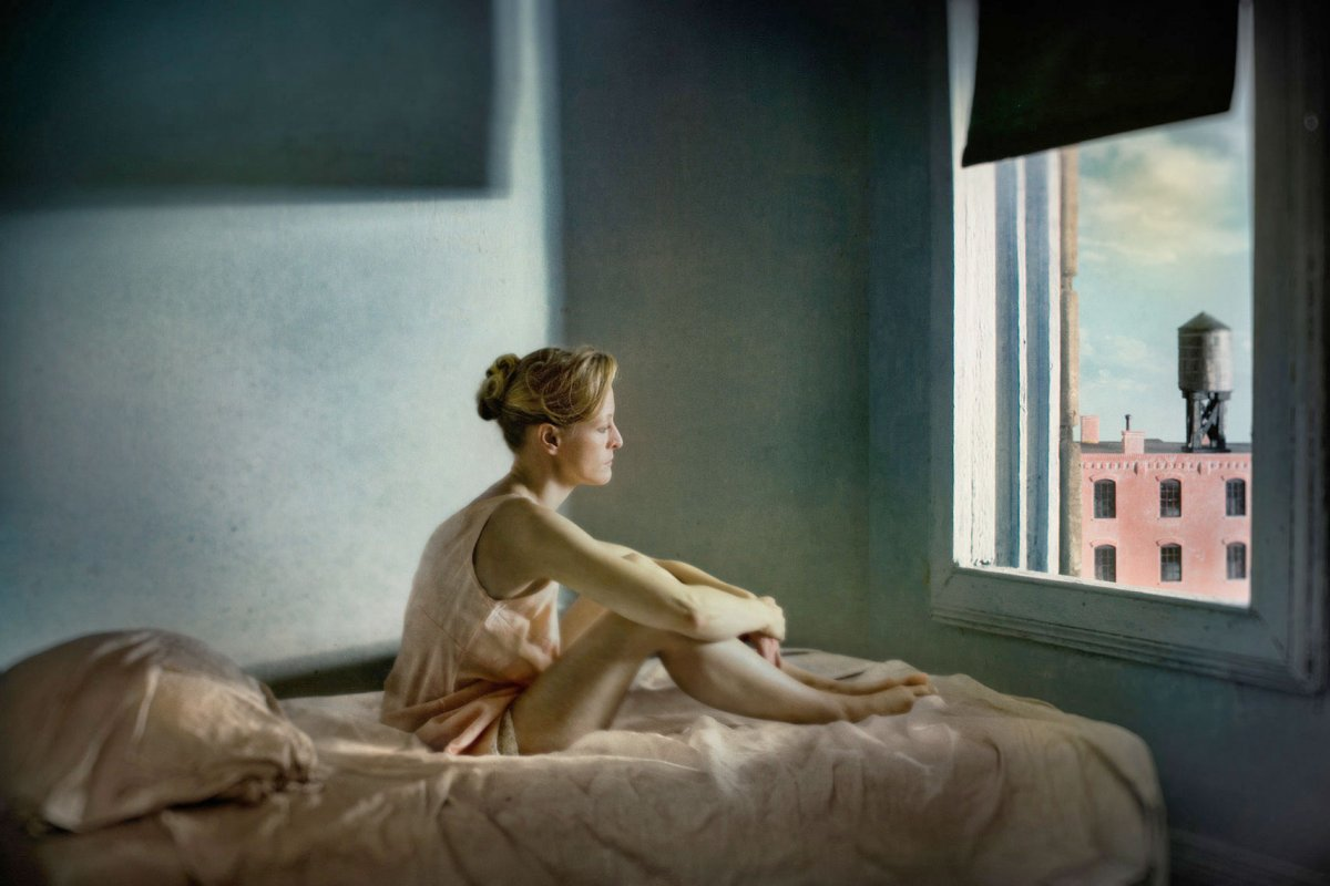 Richard Tuschman Edward Hopper morning sun