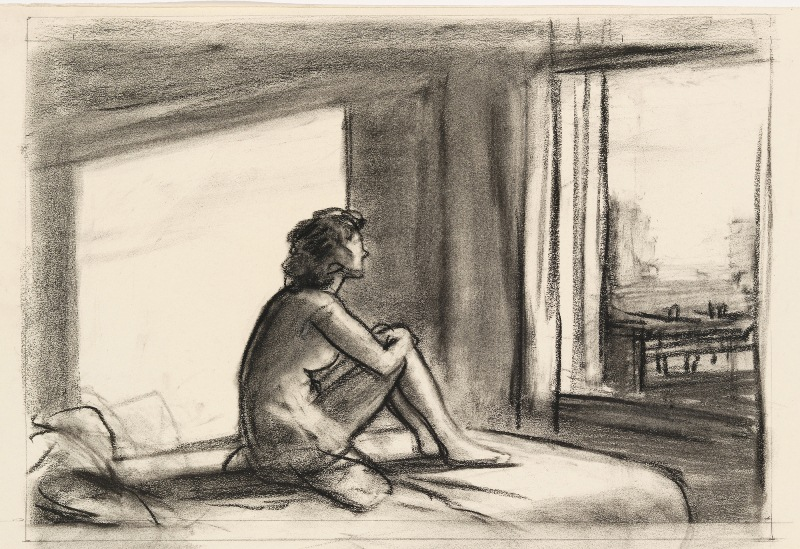 Study for Morning Sun Edward Hopper
