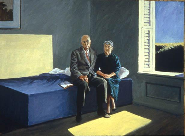 george deem Edward and Jo Hopper 1995