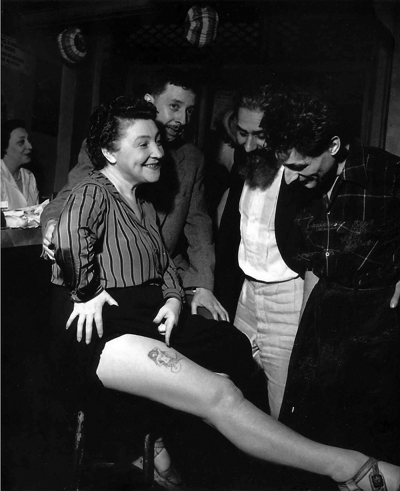 robert doisneau - tattoo