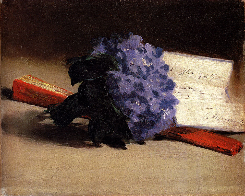 edouard manet_bouquet of violets