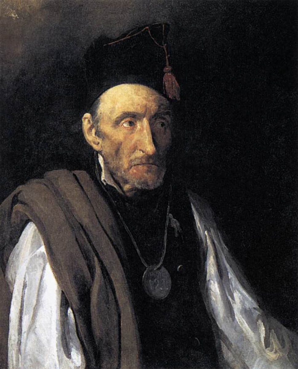 Gericault, Man with Delusions of Military Command 1819-22.jpg
