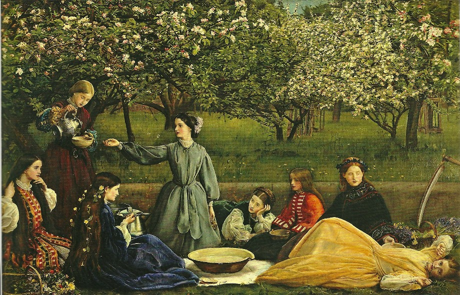 Millais - Spring - Apple Blossoms