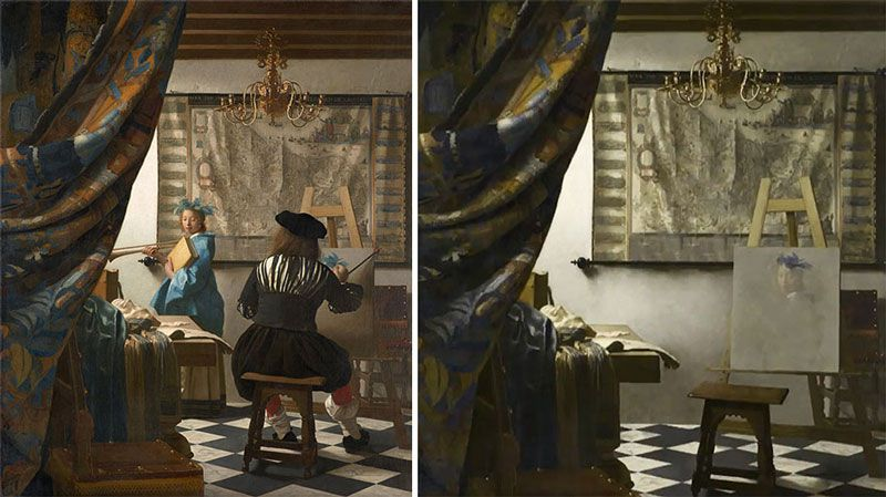 jose manual ballester - hidden spaces - vermeer