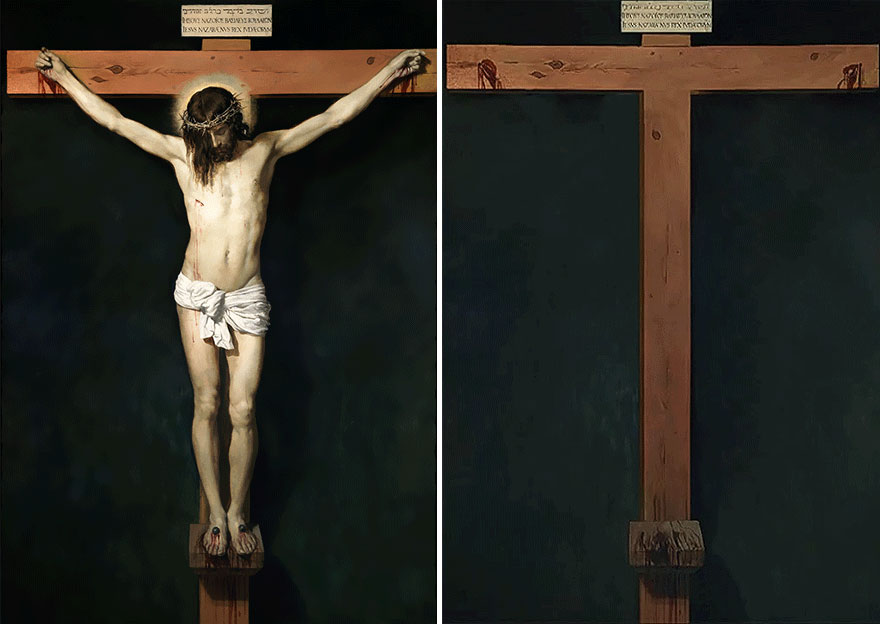 jose manuel ballester - Christ Crucified - Diego Velazquez