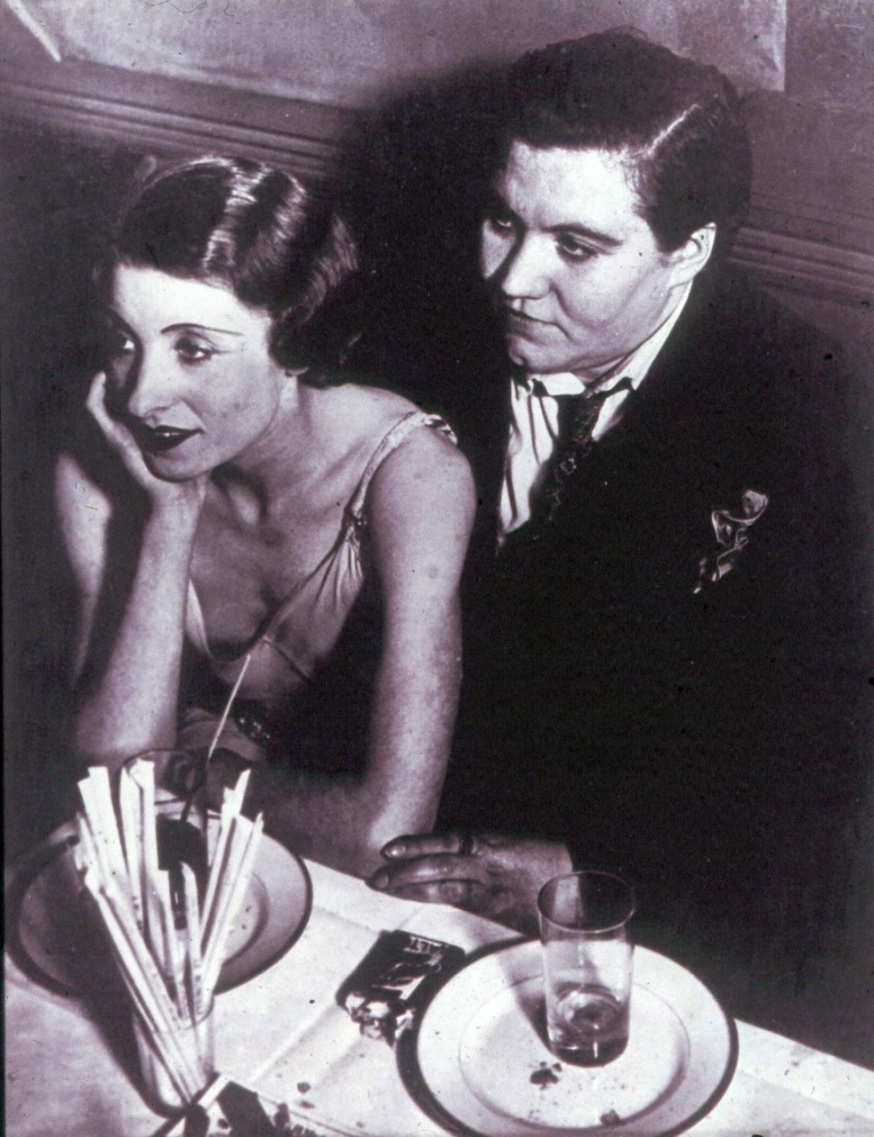 Couple at Le Monocle,1932