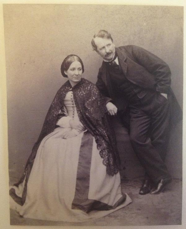 charles thurston thompson and his wife