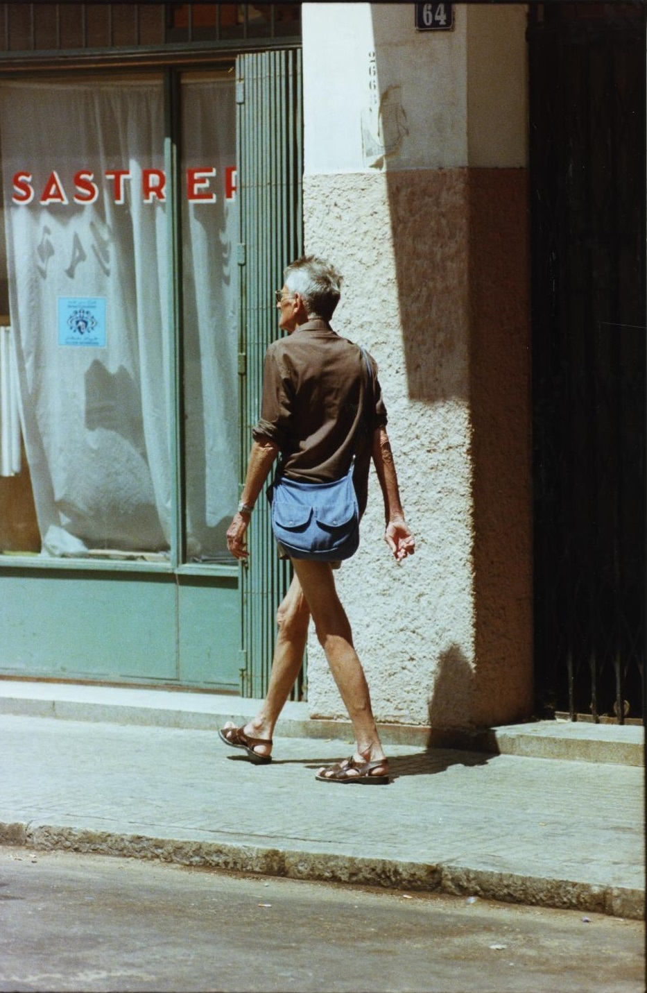 samuel beckett walking