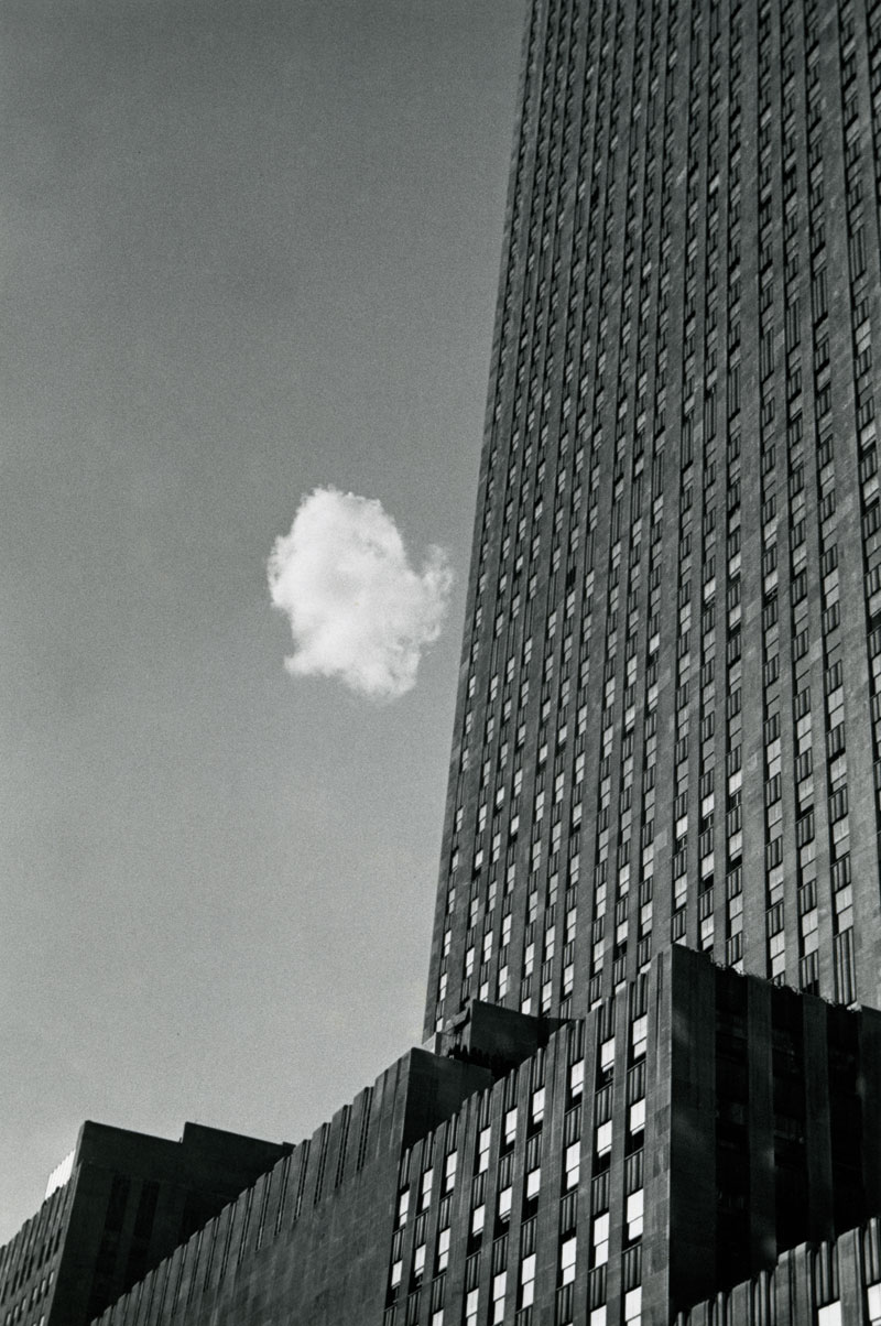 Andre Kertesz, Lost Cloud, New York, 1937