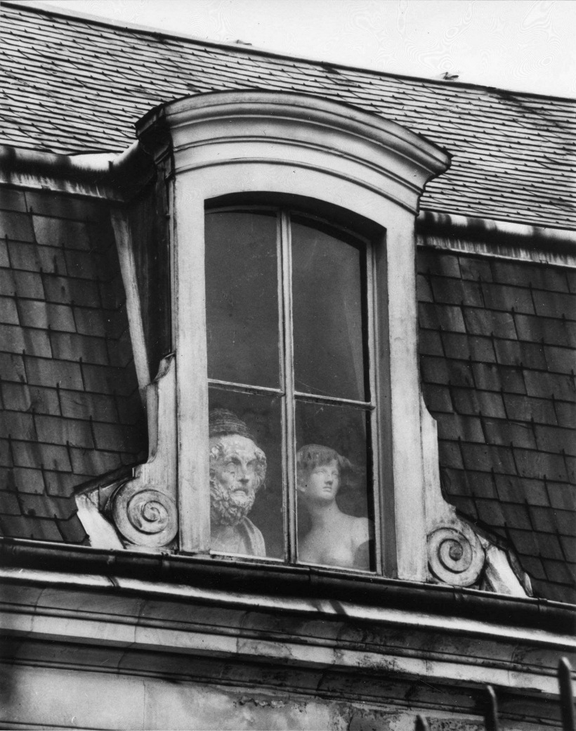 Andre Kertesz - A Window on the Quai Voltaire