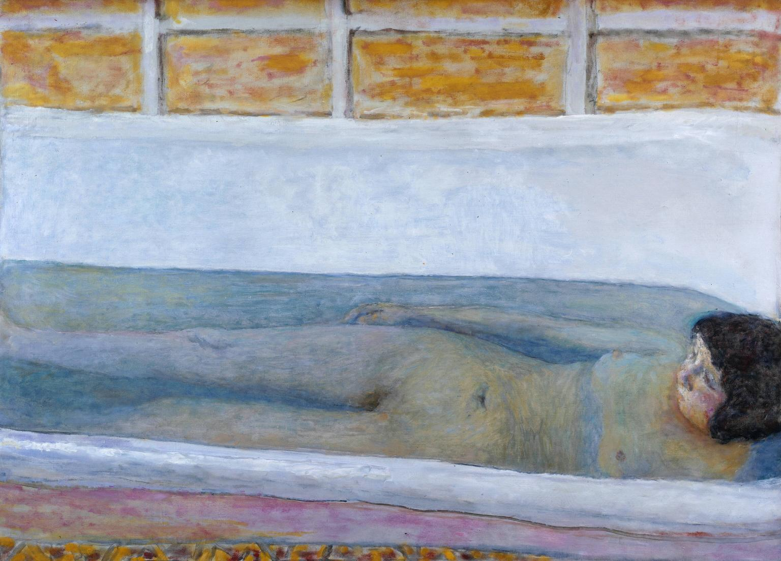 The Bath 1925 Pierre Bonnard 1867-1947 Presented by Lord Ivor Spencer Churchill through the Contemporary Art Society 1930 http://www.tate.org.uk/art/work/N04495